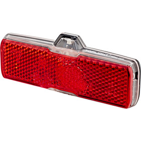 Busch + Müller Toplight Mini plus Reflektor tylny na dynamo, black/red